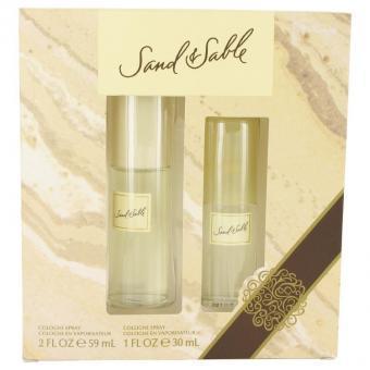 Image of   SAND & SABLE by Coty - Gift Set Cologne Spray + Cologne Spray - til kvinder