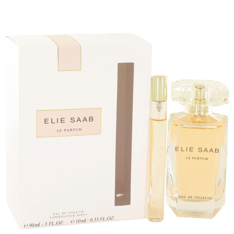 Le Parfum Elie Saab by Elie Saab Gift Set Eau De Toilette Spray + . Mini EDT Spray til kvinder