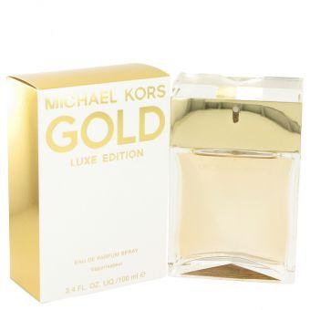Image of   Michael Kors Gold Luxe by Michael Kors - Eau De Parfum Spray 100 ml - til kvinder