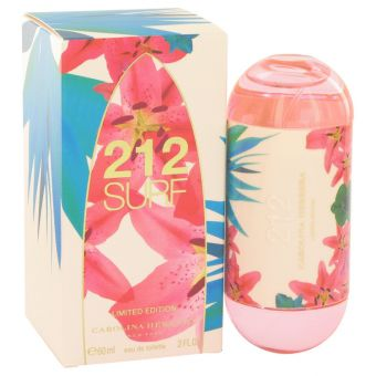 Image of   212 Surf by Carolina Herrera - Eau De Toilette Spray (Limited Edition 2014) 60 ml - til kvinder