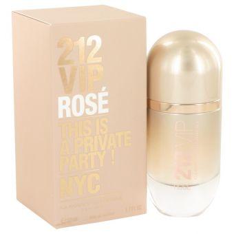 Image of   212 VIP Rose by Carolina Herrera - Eau De Parfum Spray 50 ml - til kvinder
