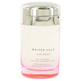 Image of   Baiser Vole Lys Rose by Cartier - Eau De Toilette Spray (Tester) 100 ml - til kvinder