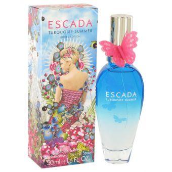 Image of   Escada Turquoise Summer by Escada - Eau De Toilette Spray 50 ml - til kvinder