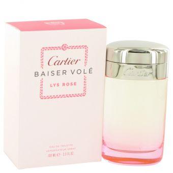Image of   Baiser Vole Lys Rose by Cartier - Eau De Toilette Spray 100 ml - til kvinder