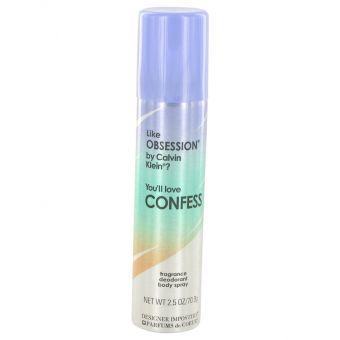 Image of   Designer Imposters Confess by Parfums De Coeur - Deodorant Body Spray 75 ml - til kvinder