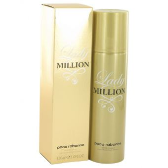 Image of   Lady Million by Paco Rabanne - Deodorant Spray 150 ml - til kvinder