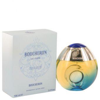 Image of   Boucheron Eau Legere by Boucheron - Eau De Toilette Spray (Blue Bottle, Bergamote, Genet, Narcisse, Musc) 100 ml - til kvinder