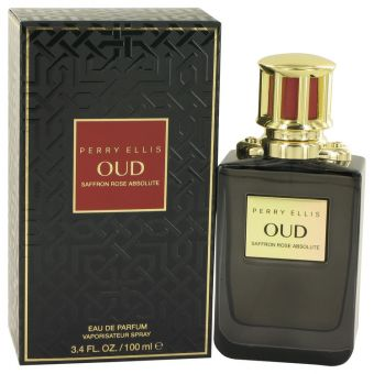 Image of   Perry Ellis Oud Saffron Rose Absolute by Perry Ellis - Eau De Parfum Spray 100 ml - til kvinder