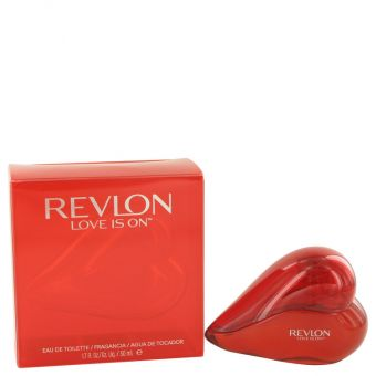 Image of   Love is On by Revlon - Eau De Toilette Spray 50 ml - til kvinder