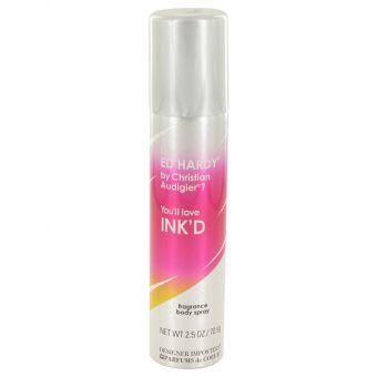 Image of   Designer Imposters Ink'd by Parfums De Coeur - Body Spray 75 ml - til kvinder
