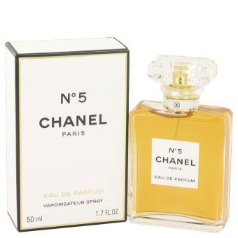 Image of   CHANEL No. 5 by Chanel - Eau De Parfum Spray 50 ml - til kvinder