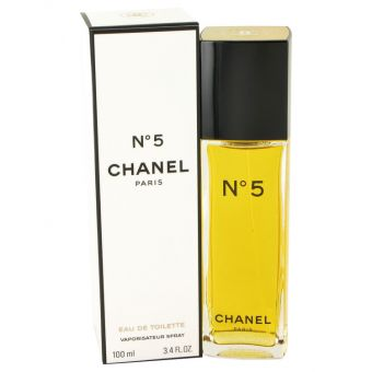 Image of   CHANEL No. 5 by Chanel - Eau De Toilette Spray 100 ml - til kvinder