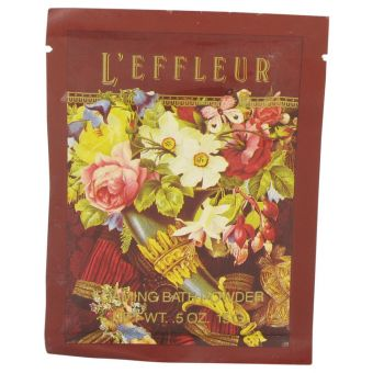 Image of   L'EFFLEUR by Coty - Foaming Bath Powder .15 ml - til kvinder