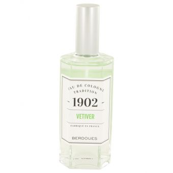 Image of   1902 Vetiver by Berdoues - Eau De Cologne Spray (Unisex) 125 ml - til kvinder