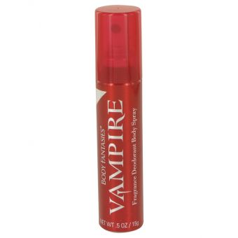 Image of   Body Fantasies Vampire by Parfums De Coeur - Mini Body Spray .15 ml - til kvinder