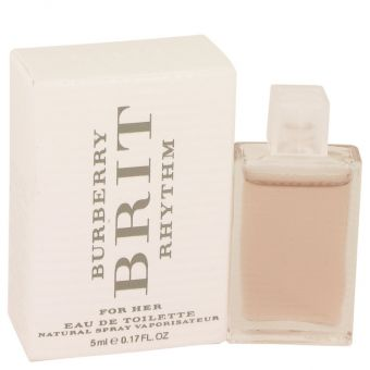Image of   Burberry Brit Rhythm by Burberry - Mini EDT .5 ml - til kvinder