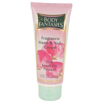 Image of   Body Fantasies Signature Pink Sweet Pea Fantasy by Parfums De Coeur - Hand & Nail Cream 60 ml - til kvinder