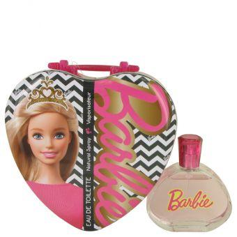 Image of   Barbie Metalic Heart by Mattel - Eau De Toilette Spray 100 ml - til kvinder