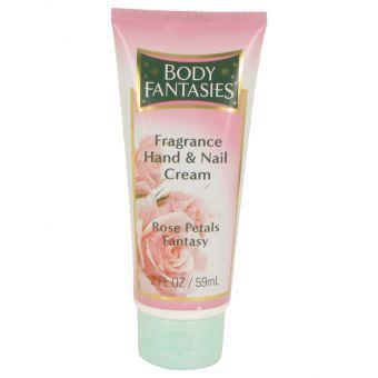 Image of   Body Fantasies Signature Rose Petals Fantasy by Parfums De Coeur - Hand & Nail Cream 60 ml - til kvinder