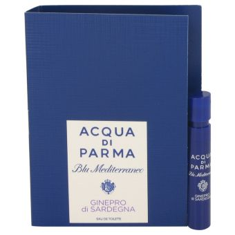 Image of   Blu Mediterraneo Ginepro di Sardegna by Acqua Di Parma - Vial (sample) .1 ml - til kvinder