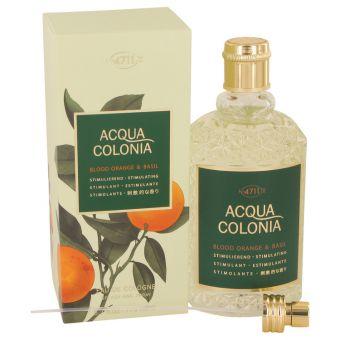Image of   4711 Acqua Colonia Blood Orange & Basil by Maurer & Wirtz - Eau De Cologne Spray (Unisex) 169 ml - til kvinder