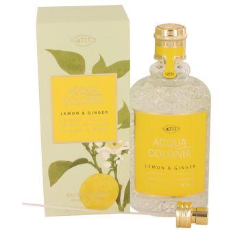 Image of   4711 ACQUA COLONIA Lemon & Ginger by Maurer & Wirtz - Eau De Cologne Spray (Unisex) 169 ml - til kvinder