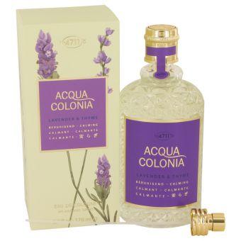 Image of   4711 ACQUA COLONIA Lavender & Thyme by Maurer & Wirtz - Eau De Cologne Spray (Unisex) 169 ml - til kvinder
