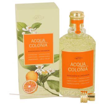 Image of   4711 Acqua Colonia Mandarine & Cardamom by Maurer & Wirtz - Eau De Cologne Spray (Unisex) 169 ml - til kvinder