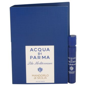 Image of   Blu Mediterraneo Mandorlo Di Sicilia by Acqua Di Parma - Vial (sample) .1 ml - til kvinder
