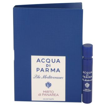 Image of   Blu Mediterraneo Mirto Di Panarea by Acqua Di Parma - Vial (sample) .1 ml - til kvinder