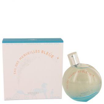 Image of   Eau des Merveilles Bleue by Hermes - Eau De Toilette Spray 100 ml - til kvinder