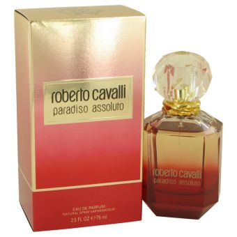 Image of   Roberto Cavalli Paradiso Assoluto by Roberto Cavalli - Eau De Parfum Spray 75 ml - til kvinder