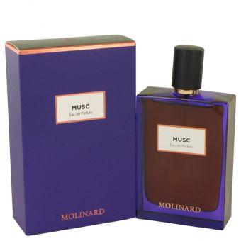 Image of   Molinard Musc by Molinard - Eau De Parfum Spray (Unisex) 75 ml - til kvinder