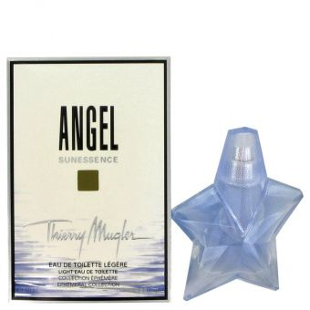 Image of   Angel Sunessence by Thierry Mugler - Vial (Bleu Lagon EditionSample) .1 ml - til kvinder