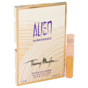 Image of   Alien Sunessence Or D'ambre by Thierry Mugler - Vial (Sample) .1 ml - til kvinder