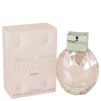 Image of   Emporio Armani Diamonds Rose by Giorgio Armani - Eau De Toilette Spray 50 ml - til kvinder