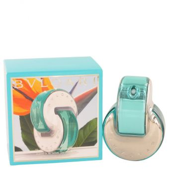 Image of   Omnia Paraiba by Bvlgari - Gift Set Eau De Toilette Spray + Body Lotion + Scented Soap + Beauty Pouch - til kvinder