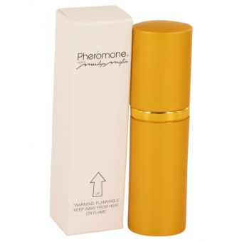 Image of   PHEROMONE by Marilyn Miglin - Mini EDP Spray (Gold Bottle) .5 ml - til kvinder