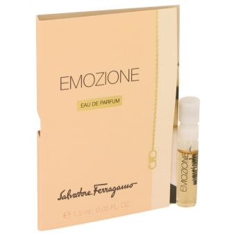 Image of   Emozione by Salvatore Ferragamo - Vial (sample) .1 ml - til kvinder