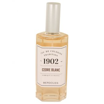 Image of   1902 Cedre Blanc by Berdoues - Eau De Cologne Spray (unboxed) 125 ml - til kvinder