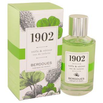Image of   1902 Trefle & Vetiver by Berdoues - Eau De Toilette Spray 100 ml - til kvinder