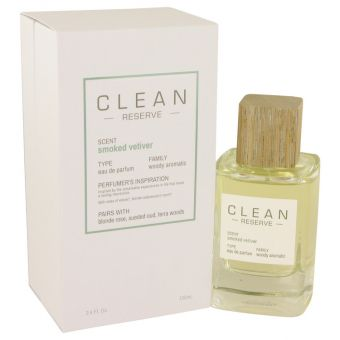 Image of   Clean Smoked Vetiver by Clean - Eau De Parfum Spray 100 ml - til kvinder