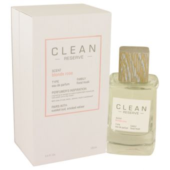Image of   Clean Blonde Rose by Clean - Eau De Parfum Spray 100 ml - til kvinder
