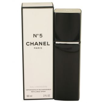 Image of   CHANEL No. 5 by Chanel - Eau De Parfum Premiere Refillable Spray 60 ml - til kvinder