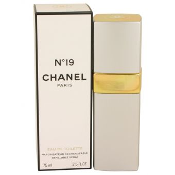 Image of   CHANEL 19 by Chanel - Eau De Toilette Refillable Spray 75 ml - til kvinder