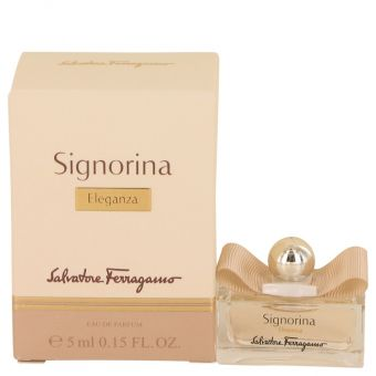 Image of   Signorina Eleganza by Salvatore Ferragamo - Mini EDP .4 ml - til kvinder