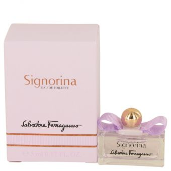 Image of   Signorina by Salvatore Ferragamo - Mini EDT .5 ml - til kvinder