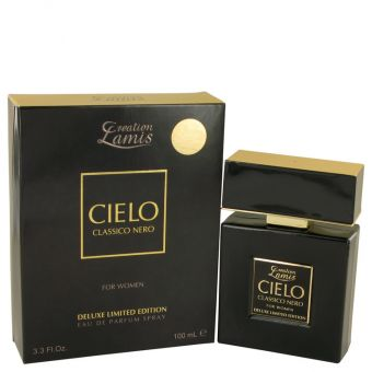 Image of   Lamis Cielo Classico Nero by Lamis - Eau De Parfum Spray Deluxe Limited Edition 100 ml - til kvinder