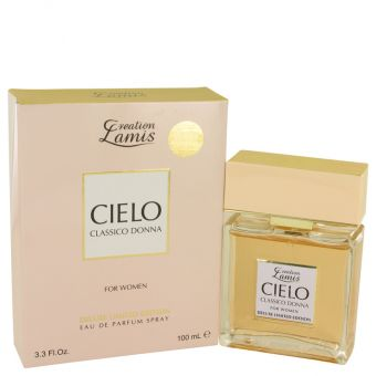 Image of   Lamis Cielo Classico Donna by Lamis - Eau De Parfum Spray Deluxe Limited Edition 100 ml - til kvinder