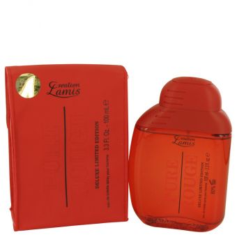 Image of   Pure Rouge by Lamis - Eau De Toilette Spray 100 ml - til kvinder